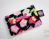 Dolly Bags - Coin Purse in Colorful Owls