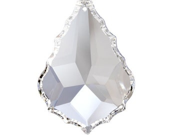 1~ 76mm Chandelier Crystals Prisms French Pendalogues - FULL LEAD Crystal (S-2)
