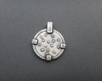 Stars Medallion Pendant Constellation