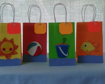 Favor bags, party bags, kids party bags, birthday bags