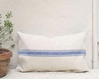 vintage grainsack pillow cover large 16 x 24 authentic european textile