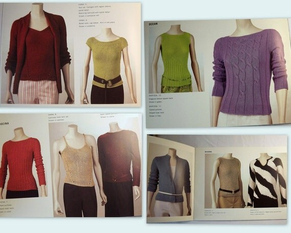 Adrienne Vittadini Knitting Pattern Books : Adrienne Vittadini Yarns Volume 20 Sweater Top Knitting