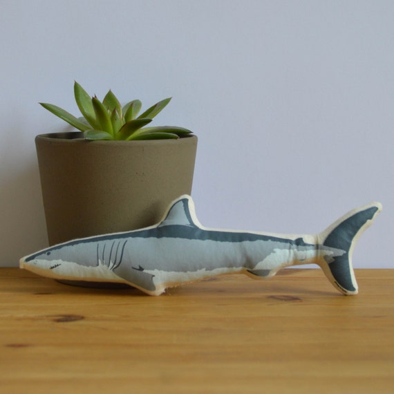 Goblin Shark Toys : Silkscreen shark toy