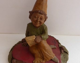 Vintage Cairn Studio Tom Clark Gnome Queen of Hearts Resigned