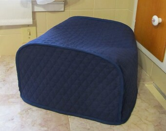 Navy Blue 4 Slice Toaster Cover Kitchen Appliance Cover Made To Order