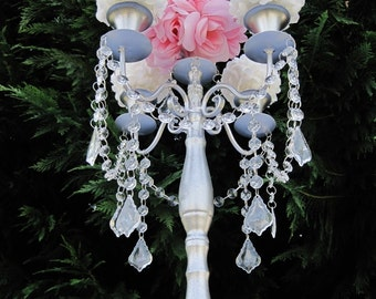 Princess Alexandra Taper Style Wedding Candelabra MADE TO ORDER