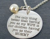 Personalized engraved jewelry more by wickedlymodpendants for Kay com personalized jewelry