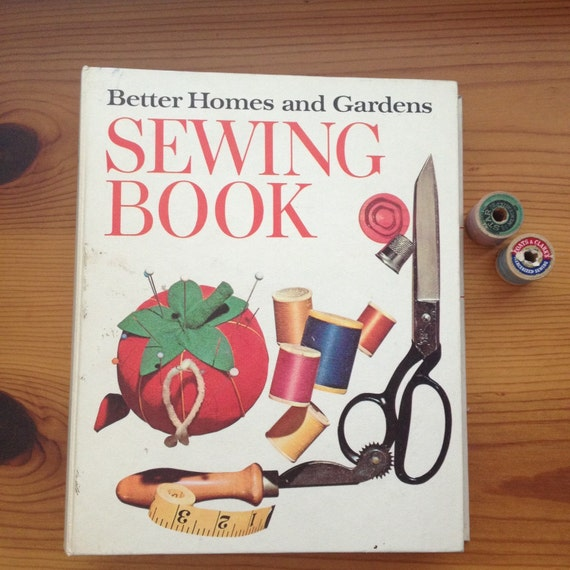 Vintage better homes and gardens sewing book 1970 for Better homes and gardens tv show contact