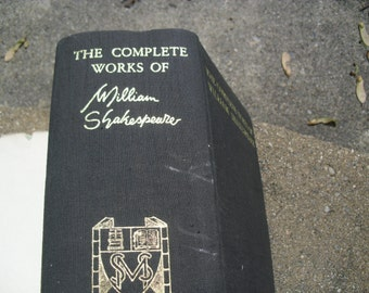 Vintage Book The Complete Works of William Shakespeare