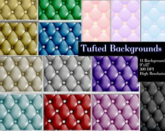 Clipart Digital Paper, Backgrounds, Graphic Backgrounds, Tufted Background Papers