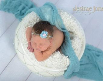 Baby headband,Newborn Headband,Petite headband,Baby flower headband,Small Flower Headband