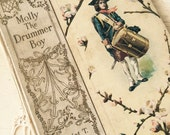 Molly,  the Drummer Boy  A Story of the Revolution - collectible book by Harriet T. Comstock