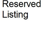Reserved Listing for Glenda Stover