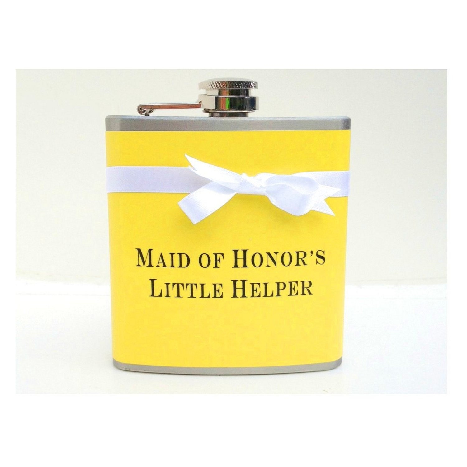Maid Of Honor Gift Bridesmaids Flasks Bachelorette Party