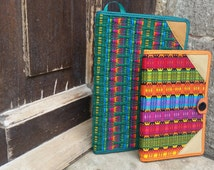 Handwoven Guatemalan Notebook Covers