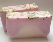 Goats Milk All Natural Soap Scented with Lavender Fields