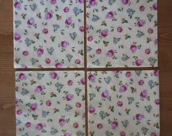 36. Roses / Napkins for decoupage / Paper Napkins / Flowers  / Decoupage / Paper Napkins
