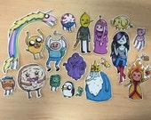 Adventure Time Sticker Set of 20