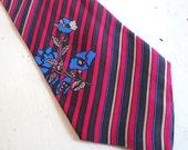 Vintage 1960s Jan Syl Mister Monaco Silk Men's Necktie