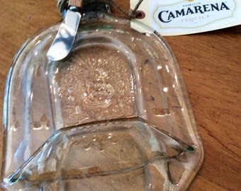 CAMARENA Tequilla Recyled Bottle Serving Flat Tray