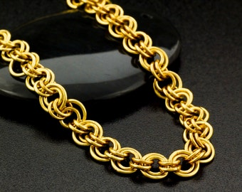 Goes With Everything Chainmaille Necklace in 14kt Gold Filled