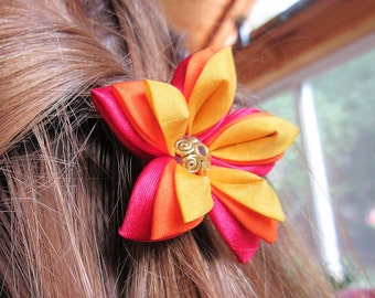 Fire Starlily Hair Ornament