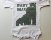 Baby Bear Bodysuit or Tee - Available in various colors and Sizes