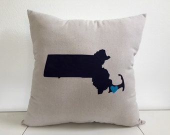 Super-Size State Pillow