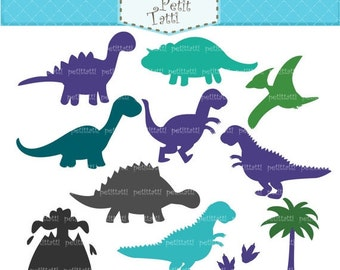 ON SALE Dinosaur Digital clip art - Dinosaur clipart, boy dinosaur, cute dinosaur clip art, blue dinosaurs clip art, INSTANT Download