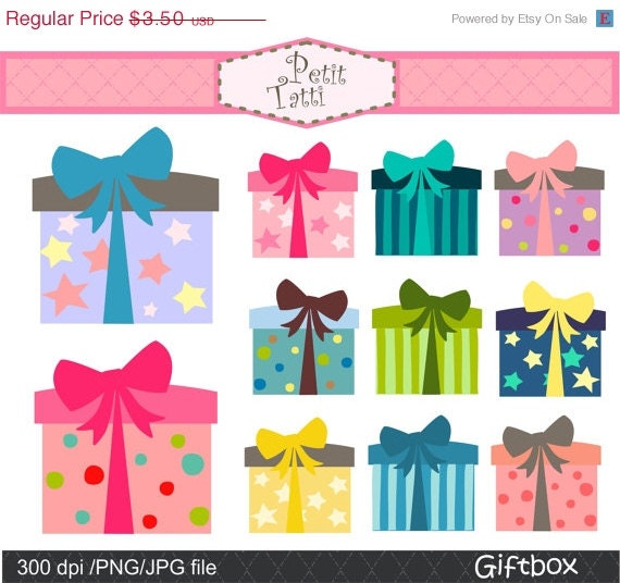 On sale gift box clip art digital clip art gift box 2 clip on sale gift box clip art digital clip art gift box 2 clip art instant download digital clip art present clip art birthday clip art negle