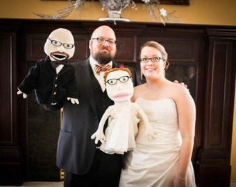 MeLove Wedding Puppets
