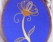 Golden Daisy -  goldwork materials pack