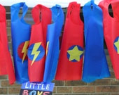 Super Hero Cape Party Favor Package of 10