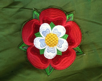6 x 6 inches Tudor Rose (Renaissance) - Badges (Patch)