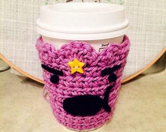 Adventure Time Lumpy Space Princess Coffee Cozy
