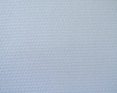 """Huck Toweling, White, 15"""" wide with woven finished border on each side; sold by the yard."""