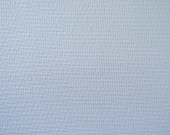 "Huck Toweling, White, 15"" wide with woven finished border on each side; sold by the yard."