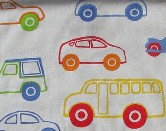 IKEA Fabric...Transportation Theme Fabric...Fat Quarter...100% Premium Cotton Fabric