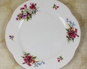Vintage Shelley Stocks Dainty Lunch Plate 13428
