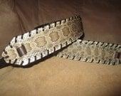 Banjo Strap Diamond Back Rattlesnake Banjo Strap