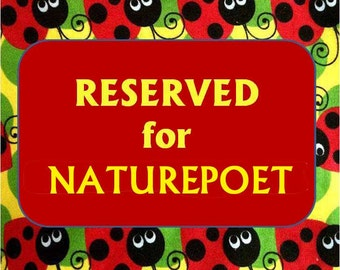 SPECIAL PURCHASE for NATUREPOET. 5139