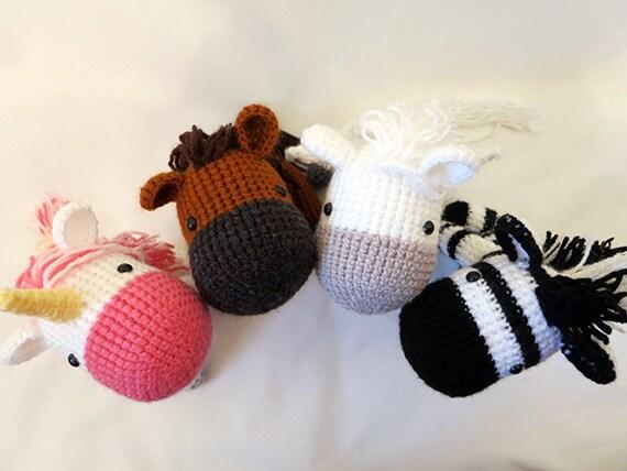 Equine Crochet PATTERN BUNDLE Amigurumi Horses amigurumi