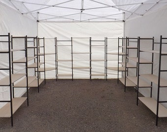 10' X 10' canopy booth or indoor display booth,