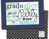 2015 Graduation Party Invite- 3 color choices