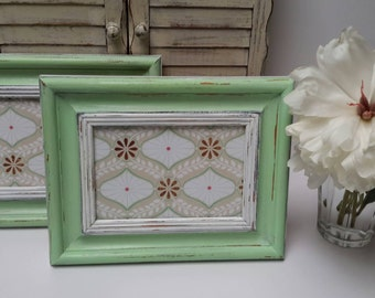 mint picture frames one frame only hand painted picture frames cute nursery frames - Mint Picture Frames
