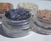 Vegan Mineral Eye Shadow Set of Four Wearable Colors to Work Shades