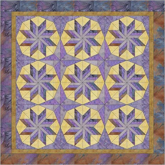 Starlight Starbright Quilt Pattern PDF