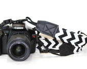 NEOPRENE THIN Camera Strap- Cross-body Length  PICK Fabric