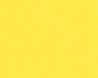Chick Yellow - 100% Pure New Wool Felt
