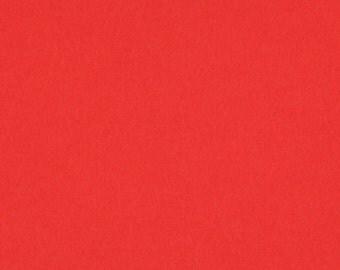 Tomato - 100% Pure New Wool Felt